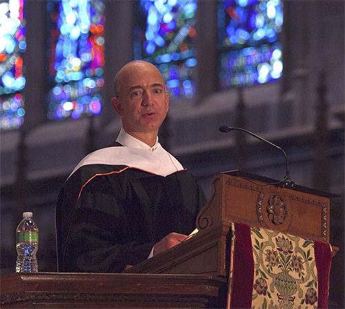 Jeff Bezos princpeton 500